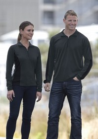 'Gear For Life' Ladies Merino Contrast Insert Pullover