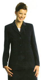 ** CLEARANCE ITEM ** - 'Totally Corporate'  Ladies Single Breasted Microfibre Jacket