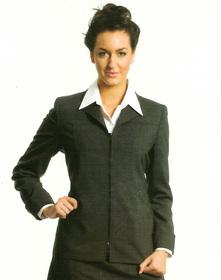** CLEARANCE ITEM ** - 'Totally Corporate'  Ladies Zip Jacket
