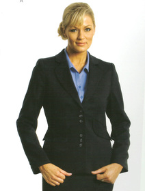 ** CLEARANCE ITEM ** - 'Totally Corporate'  Ladies Curve Jacket