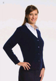 ** CLEARANCE ITEM ** - 'Totally Corporate'  Ladies Button Front Cardigan
