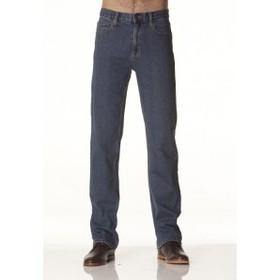 'Lee Riders' Mens Straight Leg Stonewash Stretch Jeans