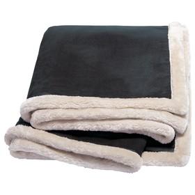 'Kanata' Faux Leather Throw
