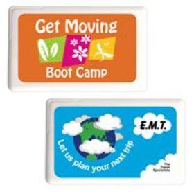 'Logo-Line' Rectangular Sugar Free Mint Card