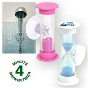 'Logo-Line' Water Saving Shower Timer