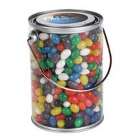 'Logo-Line' Assorted Colour Mini Jelly Beans in 1 Litre Drum