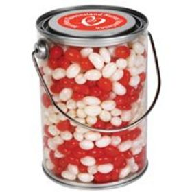 'Logo-Line' Corporate Colour Jelly Beans in 1 Litre Drum