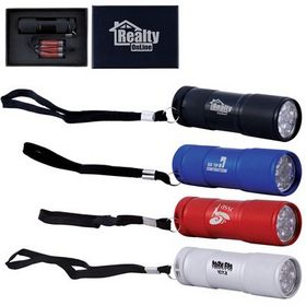 'Logo-Line' The Tube Aluminium LED Torch