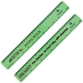 'Logo-Line' Echo Rule Recycled Plastic Ruler 30cm