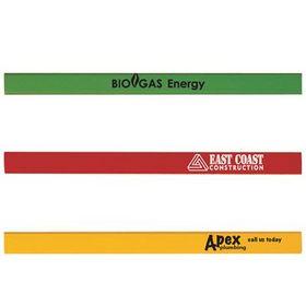 'Logo-Line' Carpenters Pencils Unsharpened