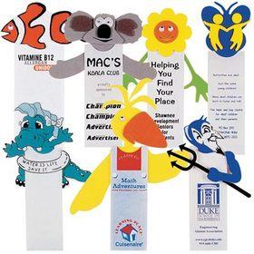 'Logo-Line' Custom Shape Magnetic Bookmark
