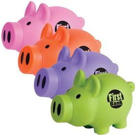 'Logo-Line' Little Piglet Coin Bank ®