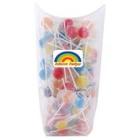 'Logo-Line' Assorted Colour Lollipops in Confectionery Dispenser