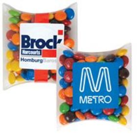 'Logo-Line' M and M's in Pillow Packs