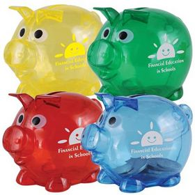 'Logo-Line' World's Smallest Pig Coin Bank