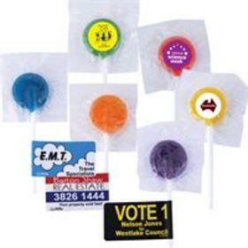 'Logo-Line' Logo Lollipops
