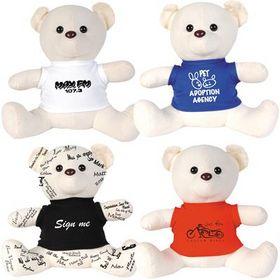 'Logo-Line' Original Signature Calico Bear