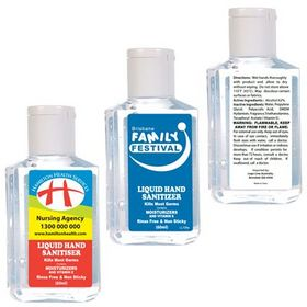 'Logo-Line' 60ml Liquid Hand Sanitiser