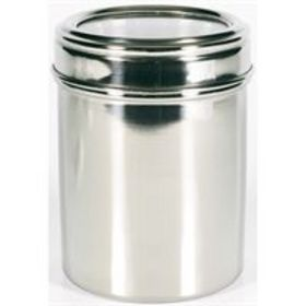 'Logo-Line' 12cm Stainless Steel Canister