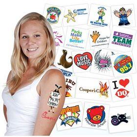 'Logo-Line' The Original Temporary Tattoos ®