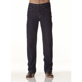 'Lee Riders' Mens Straight Leg Navy Stretch Jeans