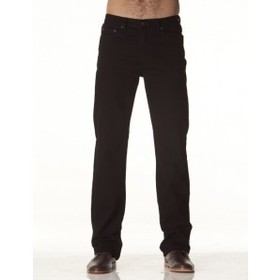 'Lee Riders' Mens Straight Leg Black Stretch Jeans