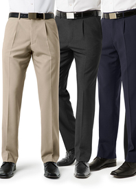 'Biz Collection' Mens Classic Pants
