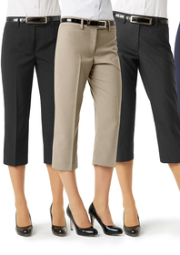 'Biz Collection' Ladies Classic ¾ Pant