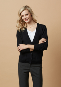 'Biz Collection' Ladies Woolmix Cardigan