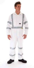 'DNC' RTA Night Worker Coverall with Reflective Tape