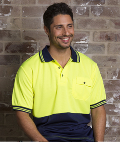 'Aussie Kings' Hi-Vis Optimus Short Sleeve Polo