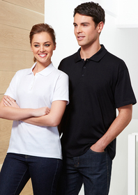 'Biz Collection' Mens Ice Polo