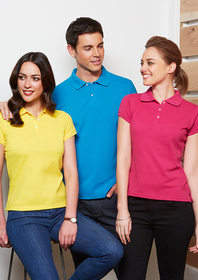 'Biz Collection' Ladies Neon Polo