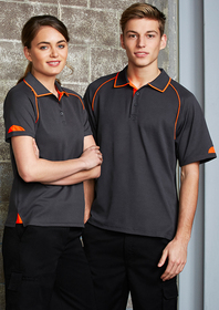 'Biz Collection' Ladies Fusion Cotton Backed Polo