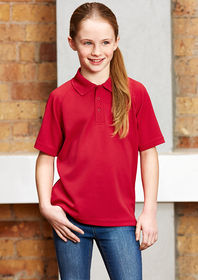 'Biz Collection' Kids Sprint Polo
