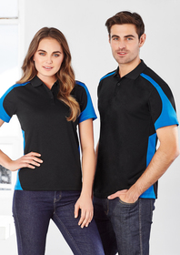 'Biz Collection' Ladies Talon Mesh Polo