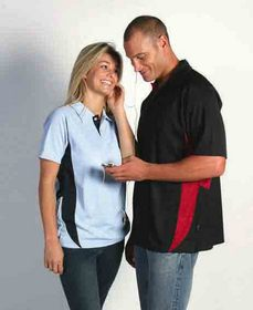 'DNC' Adult Cool-Breathe Side Panel Polo