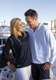 'Gear For Life' Dri-Gear Hype Long Sleeve Polo