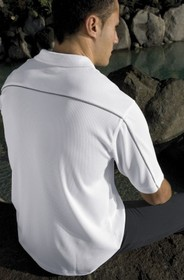 'Gear For Life' Mens Dri Trimmed Polo