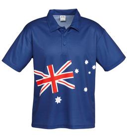 Aussie Flag Polo Shirt