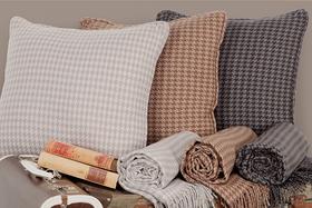 HOUNDSTOOTH Cushion 45x45cm
