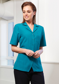 'Biz Collection' Ladies Plain Oasis Overblouse
