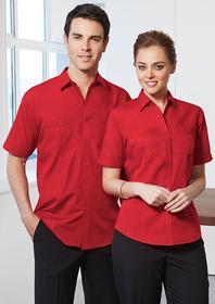 'Biz Collection' Mens Bondi Short Sleeve Shirt
