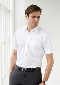 'Biz Collection' Mens Preston Short Sleeve Shirt