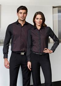 'Biz Collection' Ladies Long Sleeve Reno Panel Shirt
