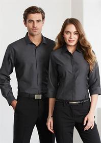'Biz Collection' Ladies Hemingway ¾ Sleeve Shirt