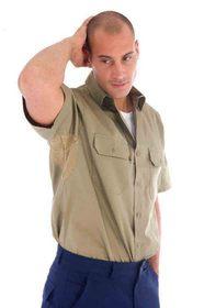 'DNC' Cool Breeze Short Sleeve Cotton Shirt