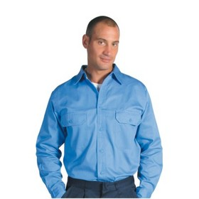'DNC' Long Gusset Sleeve Cotton Drill Work Shirt