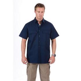 'DNC' 3 Way Cool Breeze Short Sleeve Cotton Shirt
