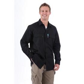 'DNC' 3 Way Cool Breeze Long Sleeve Cotton Shirt
